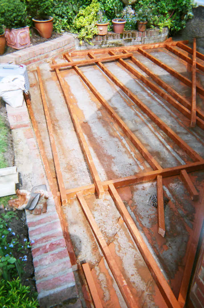 All deck timbers must be preservative treated