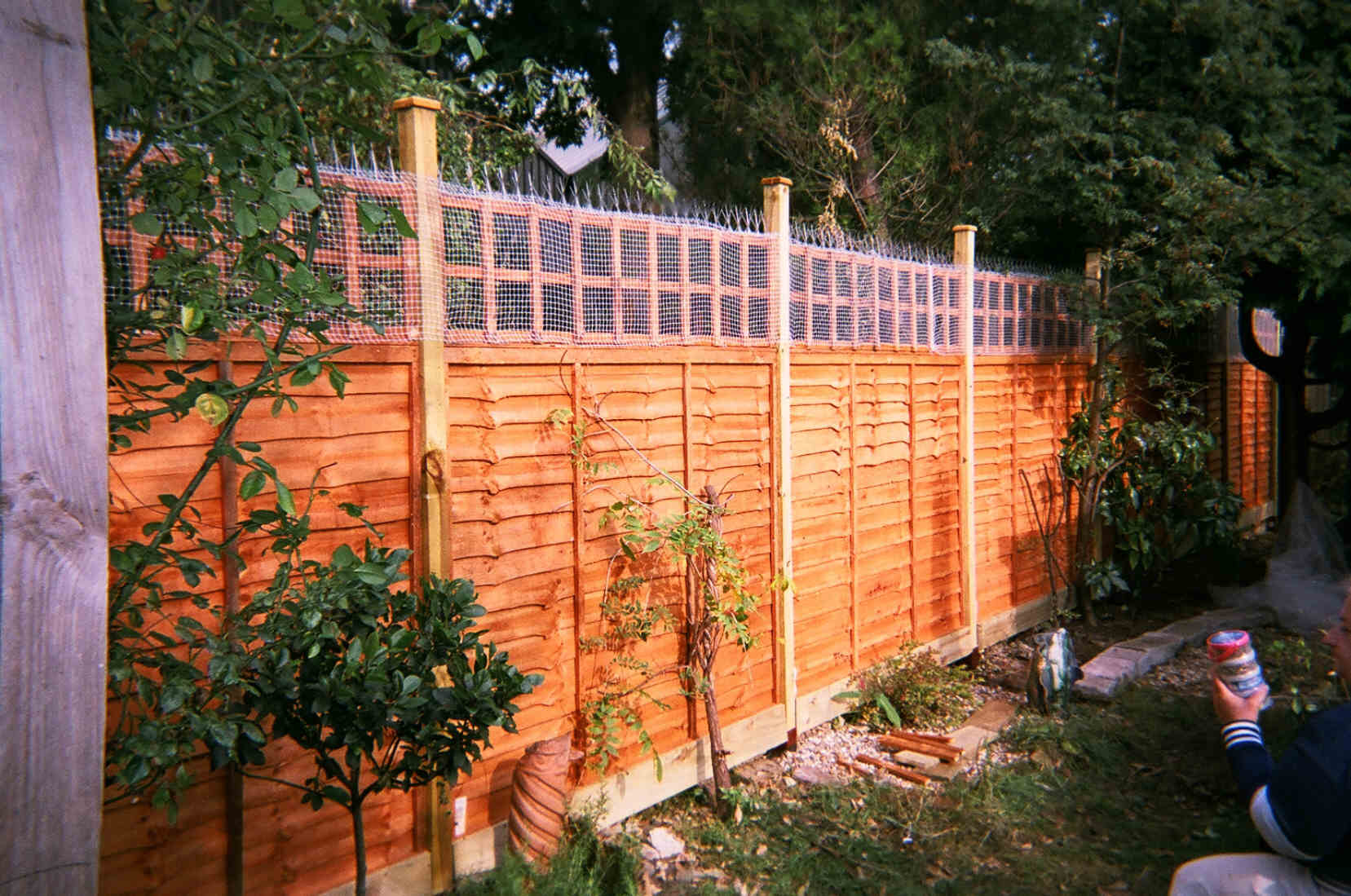 Garden Fences And Fencing Works By Calypso Landscaping